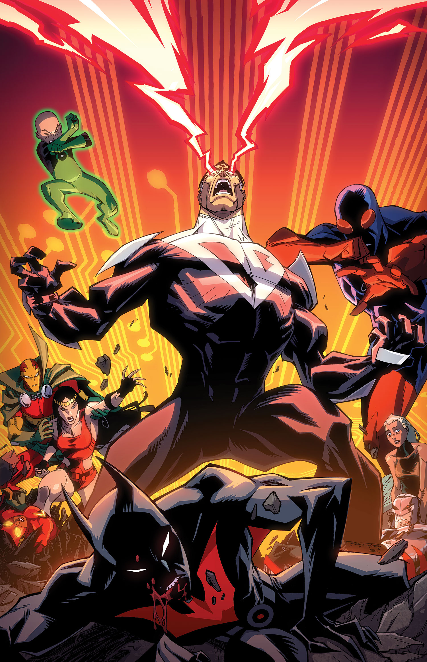 Dc comics universe batman beyond spoilers here comes robin beyond is this the beginning or a quick end photo 2