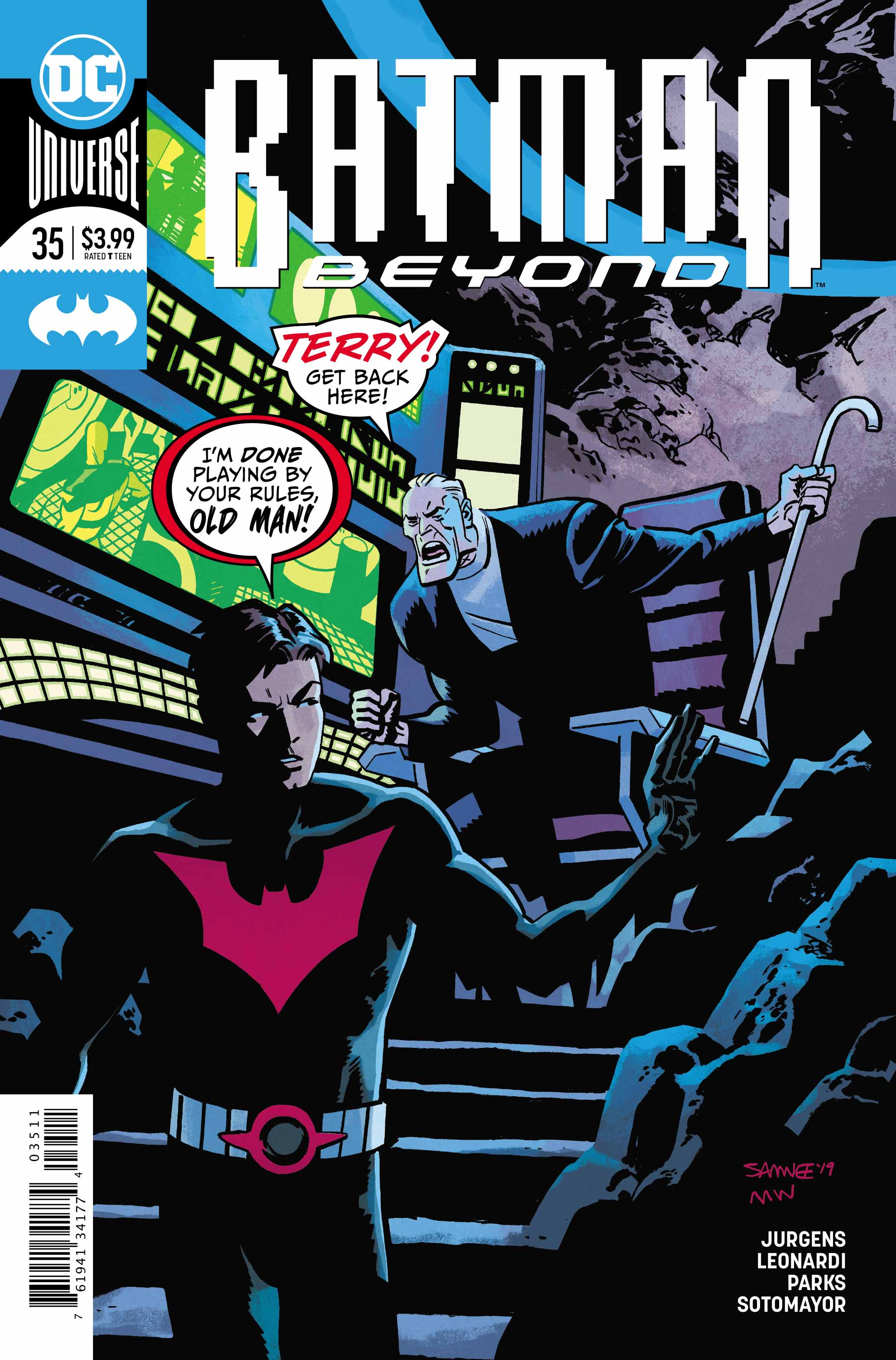 Dc comics universe batman beyond spoilers here comes robin beyond is this the beginning or a quick end photo 1