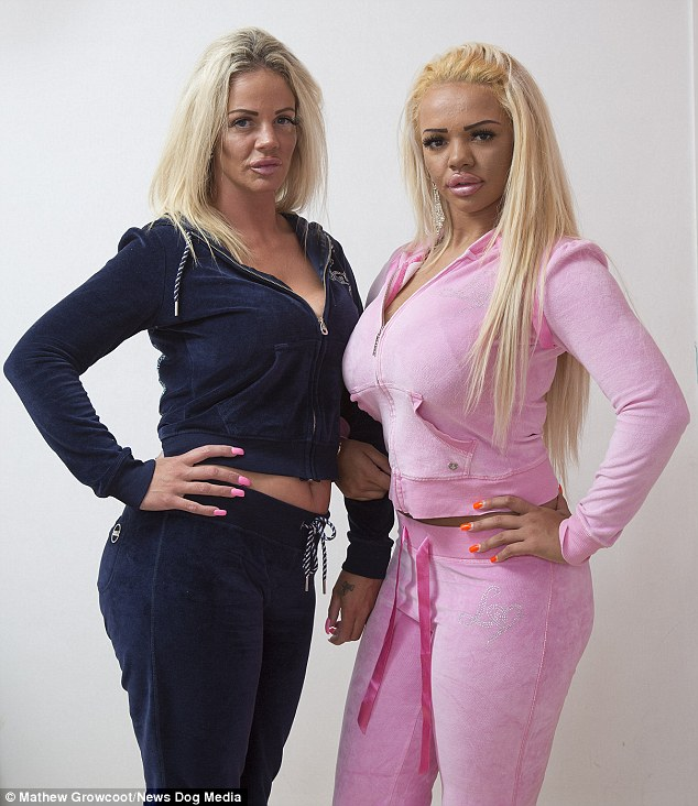 Blonde milf and daughter photo 2