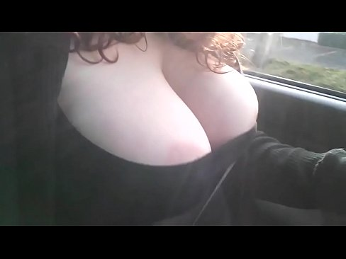 Huge tits pop out