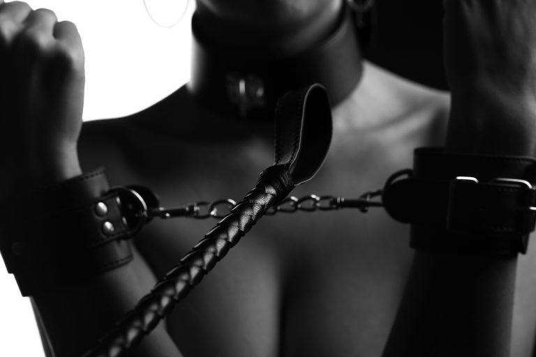 Kinky chains toys and bondage action with cute