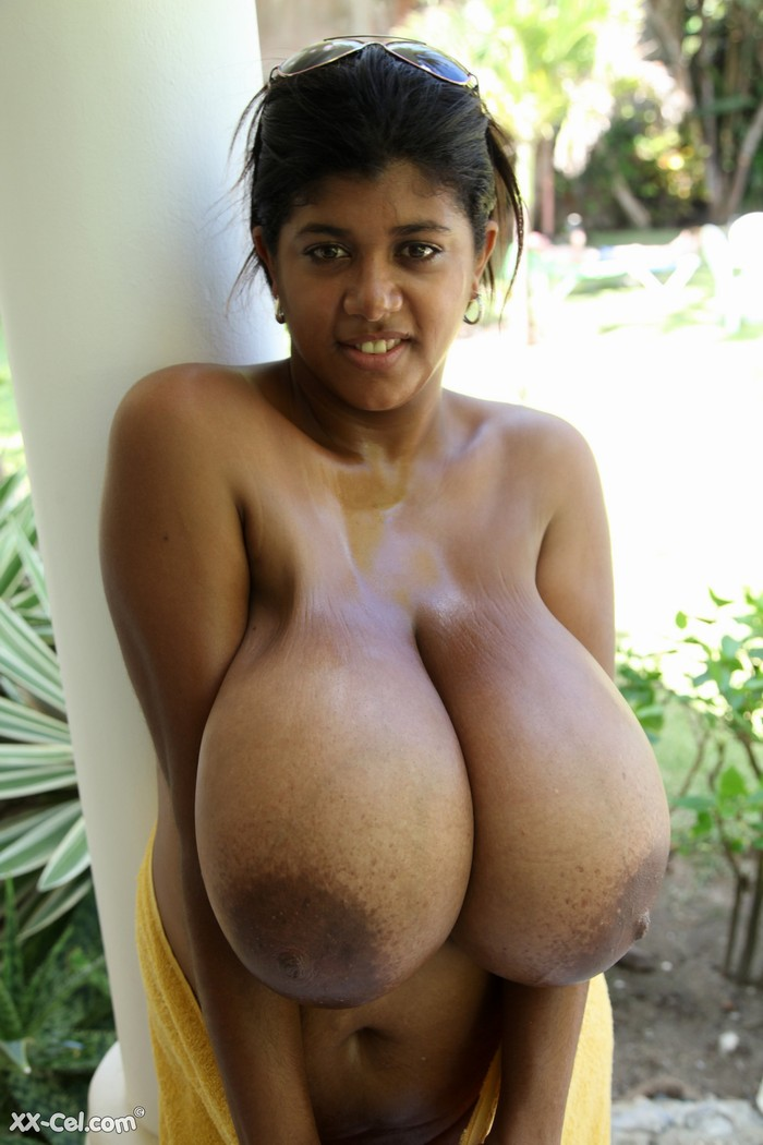 Black girls big boobs