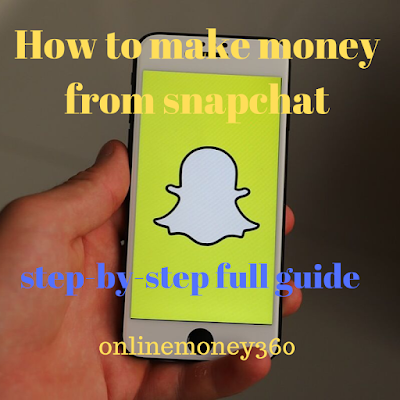 How to earn money on snapchat