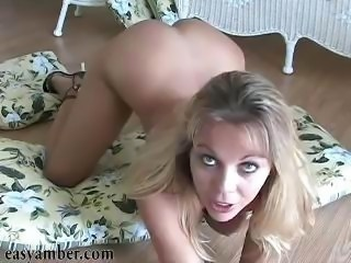 Amber lynn bach exposes her nice shaved pussy outdoor photo 2