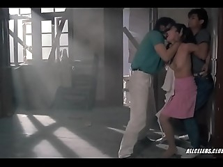 Forced to fuck this slut gets raped two guys on video