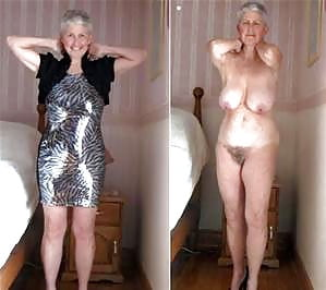 Grannies dressed and undressed photo 2