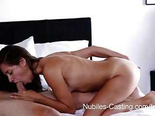 Nubiles casting tiny tit babe tries out for porn hardcore tmb photo 2